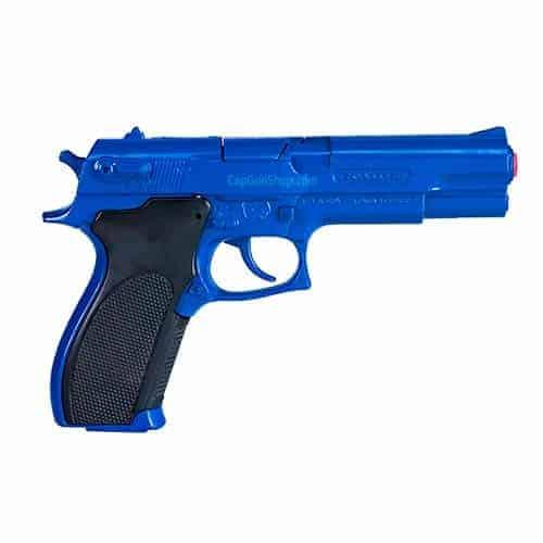 Gonher Police Blue 8 Ring Shot Cap Gun 20cm