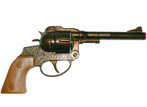 Wicke Western Super Cowboy 12 Ring Shot Cap Gun
