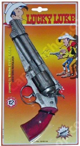Wicke Lucky Luke 12 ring shot cap gun