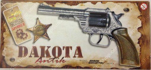 Edison Giocattoli Dakota 8 ring shot cap gun