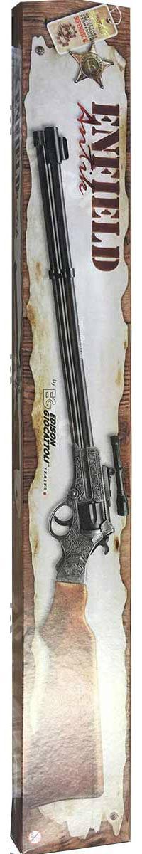 Edison Giocattoli 8 ring shot cap gun rifle