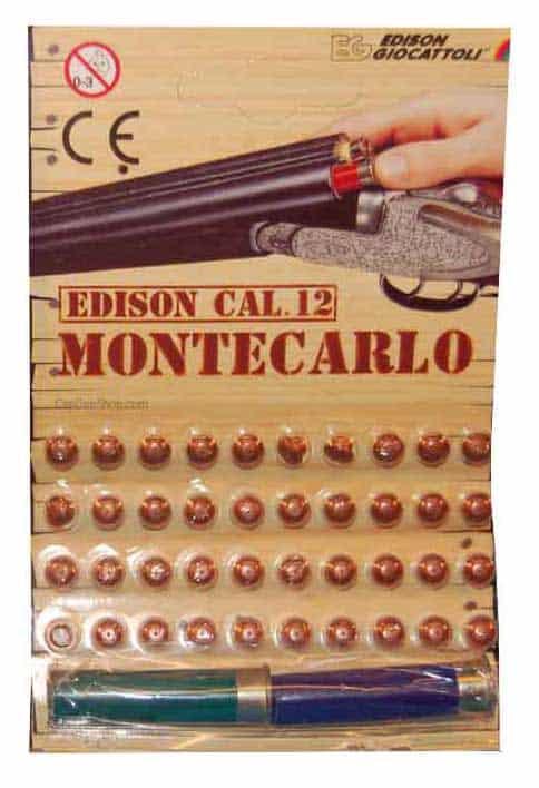 Edison Giocattoli Montcarlo Caps