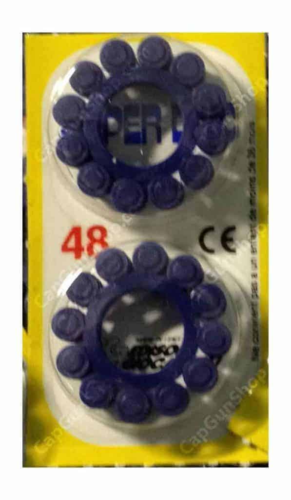 Edison Giocattoli 12 ring shot caps 48