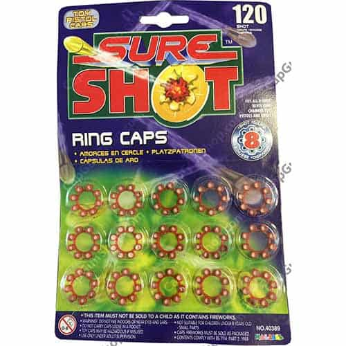 Sure Shot 8 Ring Caps 120 shots