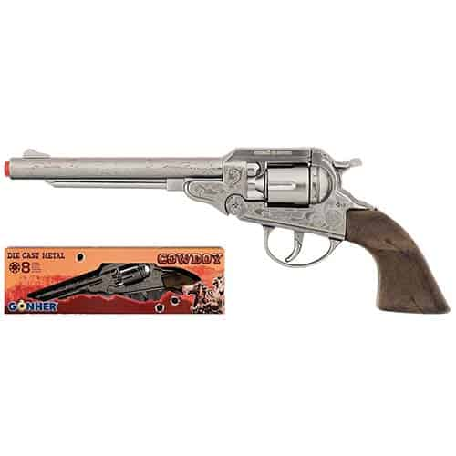 Gonher Cowboy Large 8 Ring Shot Cap Gun