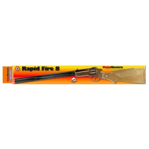 rapid fire 8shot 655mm box 0397