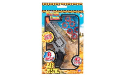 Western Rider Cap Gun with Caps