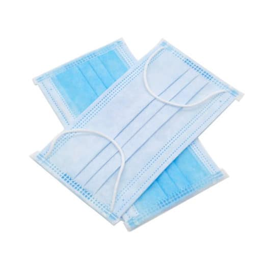 3 Ply Earloop Non Woven Disposable Mask
